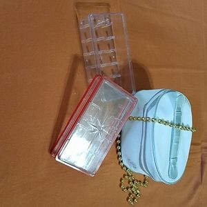 Other - Sewing accessories box and jewelry / cosmetics bag